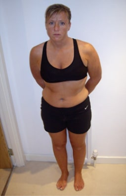 Julie Maitland Before DMC Fitness Personal Training
