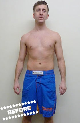Stuart Davie Before DMC Fitness Personal Training
