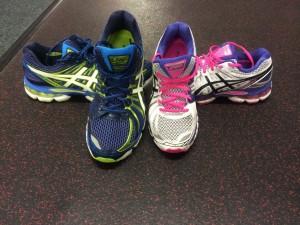 Marathon trainers