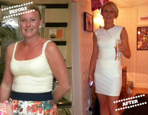 Pauline Kelly before and after