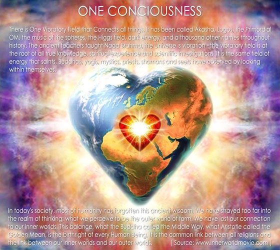 One conciousness
