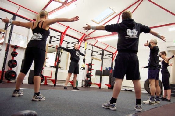 Group personal training Glasgow
