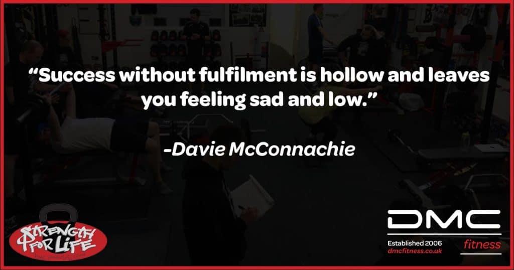 Davie McConnachie quote