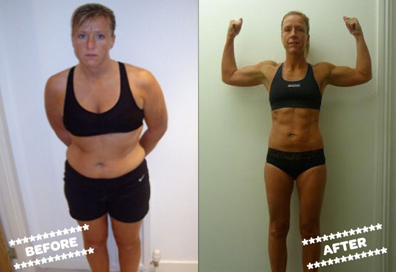 Julie McConnachie before and after
